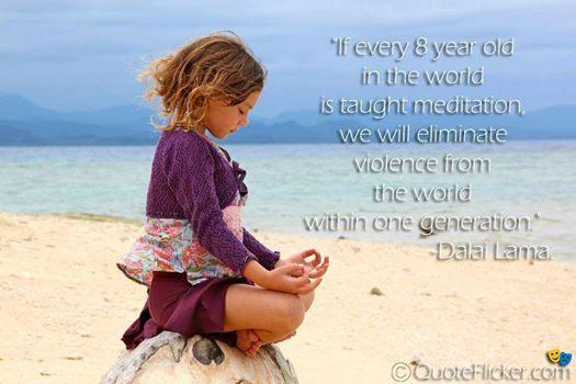 child-meditate